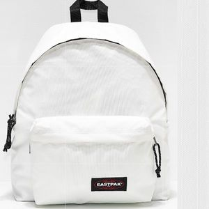 NWT EASTPAK | Metallic Pearl White Backpack